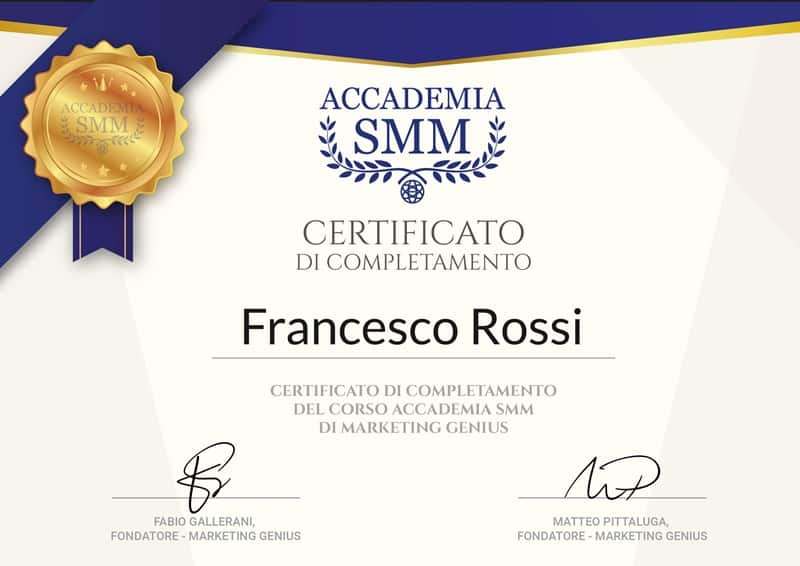 accademia smm